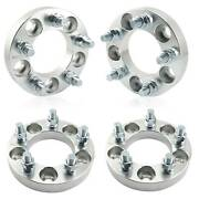 4pcs 1 Wheel Spacers 5x4.5 |1/2x20 Fits Dodge Nitro Ford Mustang Heavy Duty