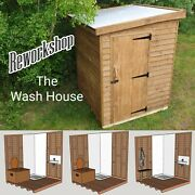 The Wash House Composting Toiletoff Grid Bathroom Camping Glamping Eco Loo