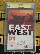 East Of West 1 Cgc 9.8 Ss Ghost Variant - Signed By Nick Dragotta - Image Comic