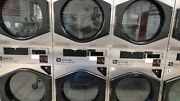 Coin Or Card Operated Commercial Maytag Mlg32pd Stack Gas Dryer Used In Good Co