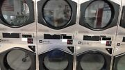Coin Or Card Operated Commercial Maytag Mlg32pd Stack Gas Dryer, Used In Good Co