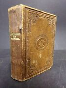 1881 Swedish Nt Bible. Published By British And Foreign Bible Society Stockholm