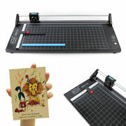 24/ 36/ 48 Manual Rotary Paper Trimmer Sharp Precision Photo Paper Cutter Usa