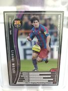 2005 Panini Wccf Lionel Messi 1st Rookie Card