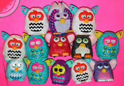 Lot Of 12 Mcdonalds Hasbro Vintage Furby And Furbie Boom Happy Meal Toys