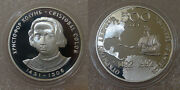 Мedal Christopher Columbus 1992 500 Years Of Discovery Of America. Moscow Mint