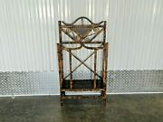 Victorian Tortoise Shell Japanned Bamboo Umbrella Stand