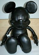 Nwt Authentic Disney X Coach Mickey Mouse Leather Collectible Doll F59150 Medium