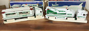 Hess Toy Truck And Space Shuttle 1999 And Toy Truck And Racers 1997