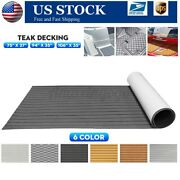 106and039and039 94and039and039 5.5-6mm Eva Foam Boat Flooring Teak Decking Marine Carpet Yacht Mat