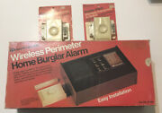 Vintage Safe House Burglar Alarm New In Box With Two Extra Transmitters