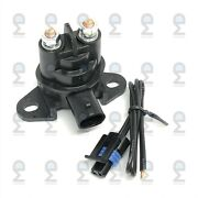 Starter Relay Solenoid And Harness Plug For Canam Can-am 278002347 278003012 Repla