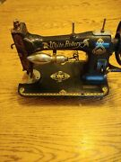 White Rotary Treadle Sewing Machine Antique