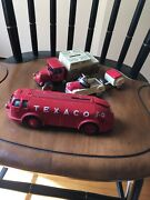 Ertl Doodle Bug Die Cast Bank And 2 Other Cast Iron Pieces
