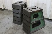 1 Pair - 12 X 30 T Slotted Angle Plates Yoder 73110