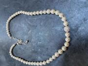 Vtg 1990's Imitation Pearl Choker/necklace - Costume Jewelry