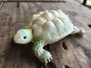 Vintage Viscoloid Celluloid Turtle Kids Play Toy Reptile