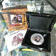 2013 Tuvalu Endangered Tasmanian Devil Coloured 1 Silver 1oz Proof Coin
