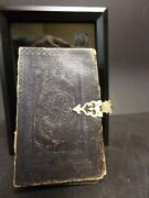1860 Civil War Bible - Signed By Union And Confederate Soldiers