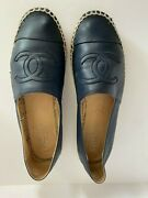 Lambskin Cc Espadrilles In Rare Hard To Find Color - Sold Out Timeless
