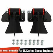 For Chevy Ls1 Ls6 Ls1 Ls6 Weld In Motor Mount Set Engine And Frame Brackets Lsx Bb