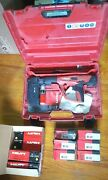 Hilti Dx 460 Concrete Nailer Powder Actuated Gun W/ Mx 72, Hard Case, And Boosters