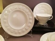 Antique Wedgewood Wellesley Cups Saucers Salad/lunch Plates Service For 9