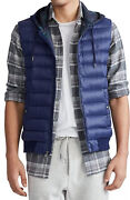 Polo Padded Quilted Front Hooded Gilet