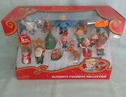 Rudolph The Red Nosed Reindeer Misfit Ultimate Figurine Collection 15 Figure Set