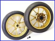 2005 Ducati 999r Marchesini M10s Forged Aluminum Wheel Front And Rear Set Yyy