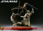 Sideshow Star Wars Revenge Of The Jedi Diorama Exclusive 2001121 New Sealed
