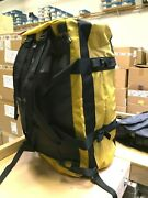The M-l Golden State Duffel Packable Travel Suitcase Backpack Yellow