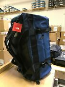 The M-l Golden State Duffel Packable Travel Suitcase Backpack - Blue