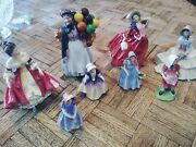 Royal Doulton Figurines Southern Belle, Biddy Penny, Daydreams, Autumn Breezes