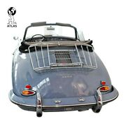 Porsche 356 A B C Trunk Lid Carrier Leitz Style Luggage Rack Coupe Speedster