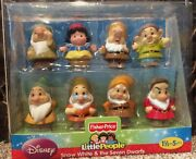 New Fisher Price Little People Disney Snow White And The Seven Dwarfs 2012
