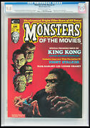 Monsters Of The Movies 1 Cgc Nm/mt 9.8 Highest Graded King Kong Wolfman Dracula