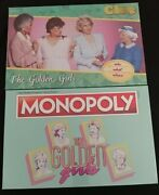 Usaopoly New Sealed Board Games Golden Girls Monopoly And Clue Betty White 2 Games