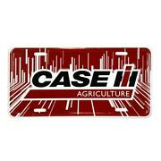 Case Ih Agriculture Red License Plate