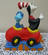Dr. Suess Cat In The Cat And Thing Bank 8-1/2 Tall 1997