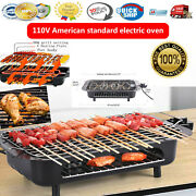 Electric Grill Portable Smokeless Non-stick Cooking Bbq Griddle Indoor And Outdoor