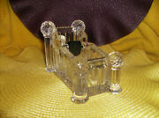 24 Lead Crystal Tape Dispenser New In Box