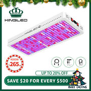King Plus 4000w Led Grow Light Full Spectrum Greenhouse Double Switches Us Stock