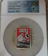 2017 Niue Mickeyand039s Revue 1oz Silver Coin Ngc Pf69 Disney Mickey Mouse Pop 20andnbsp