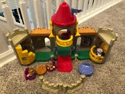 Fisher Price Little People Lil Kingdom Castle 2003 King Queen Figures Complete