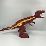 Fisher Price 2005 Imaginext 17 Mega T Rex Dinosaur Dino Moves And Roars Working