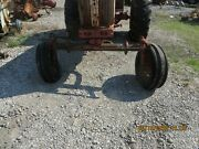 Case 830 Tractor Front Axle Assm With Front Casting And Tires And Wheels