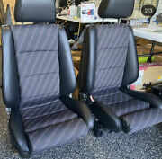 Bmw E30 325i 318i 325is Sport Seat Kit M Tech Centers Leather Upholstery New