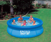 Inflatable Swimming Pool Outdoor Fun Summer Family Size Adults And Kids 305x76cm