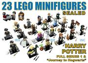Harry Potter Series 1 Lego Minifigures Full Set - Sealed Complete New Gift